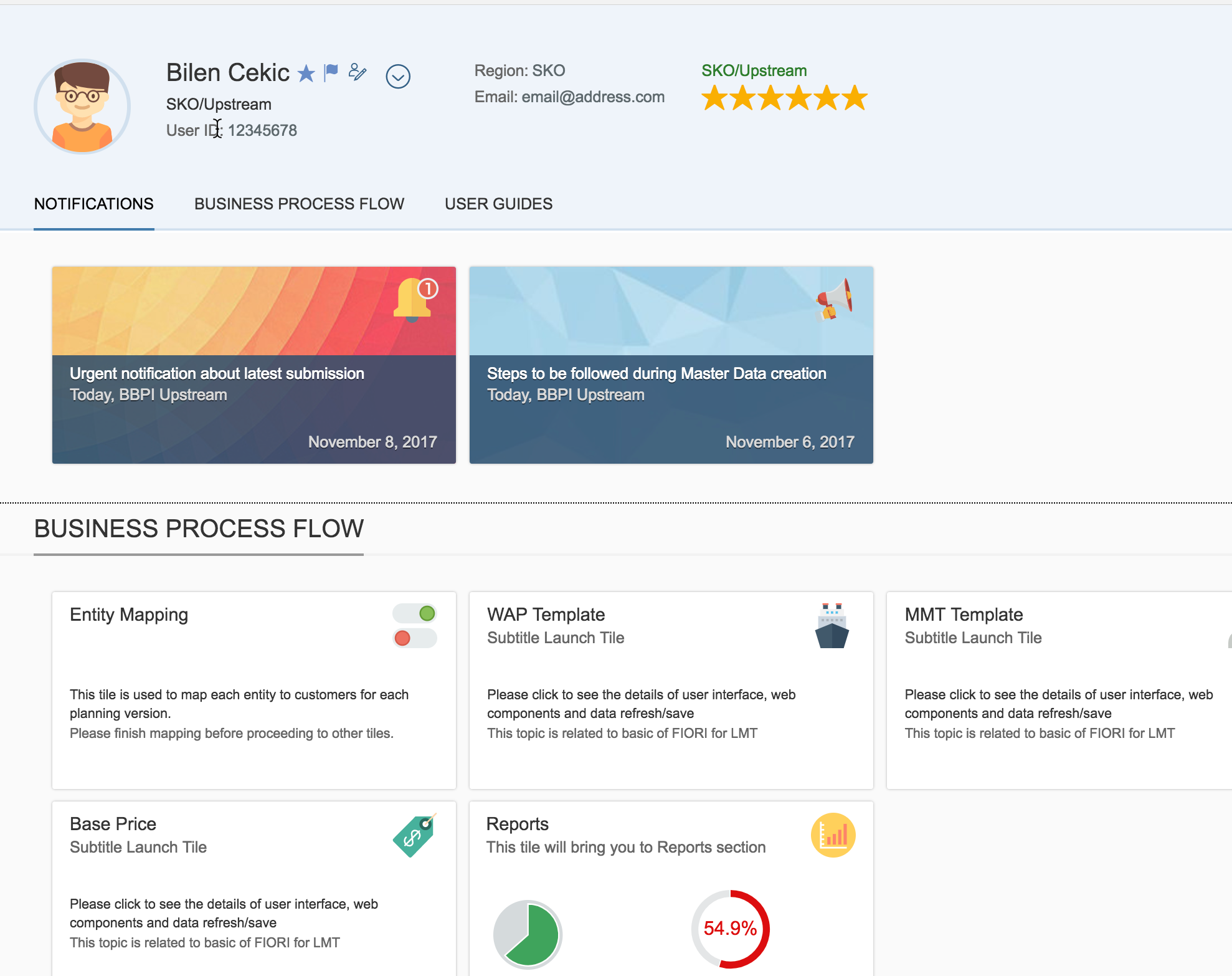 Customized Fiori Apps